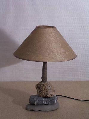 lampe galet et bois flott arve cr ation luminaire de d coration annemasse. Black Bedroom Furniture Sets. Home Design Ideas